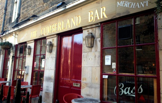 Cumberland Bar, New Town, Edinburgh