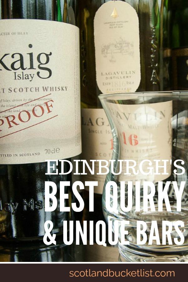 Edinburgh's Best Quirky & Unique Bars