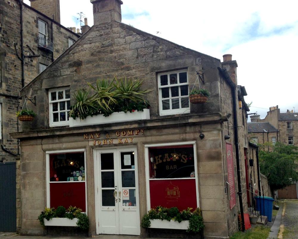 Kay's Bar, Edinburgh's Quirky Bars