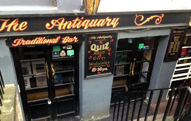 The Antiquary Bar, Edinburgh