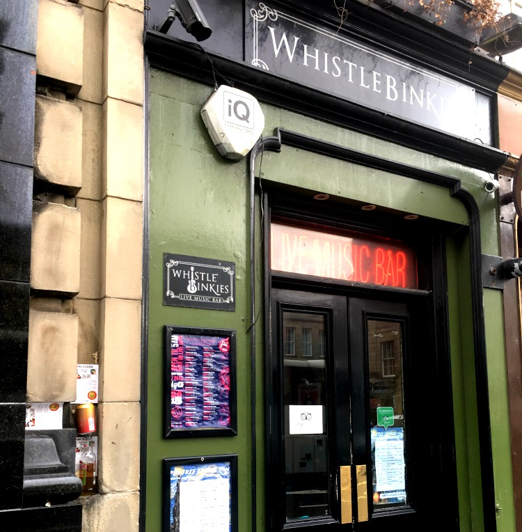 Whistlebinkies Bar Edinburgh