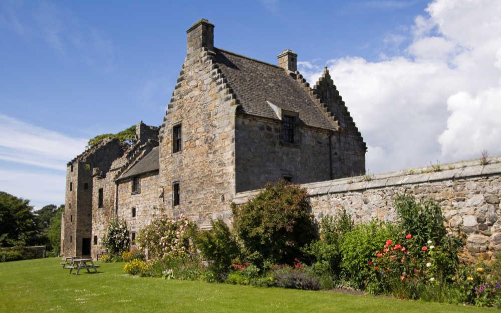 Aberdour Castle, Scotland