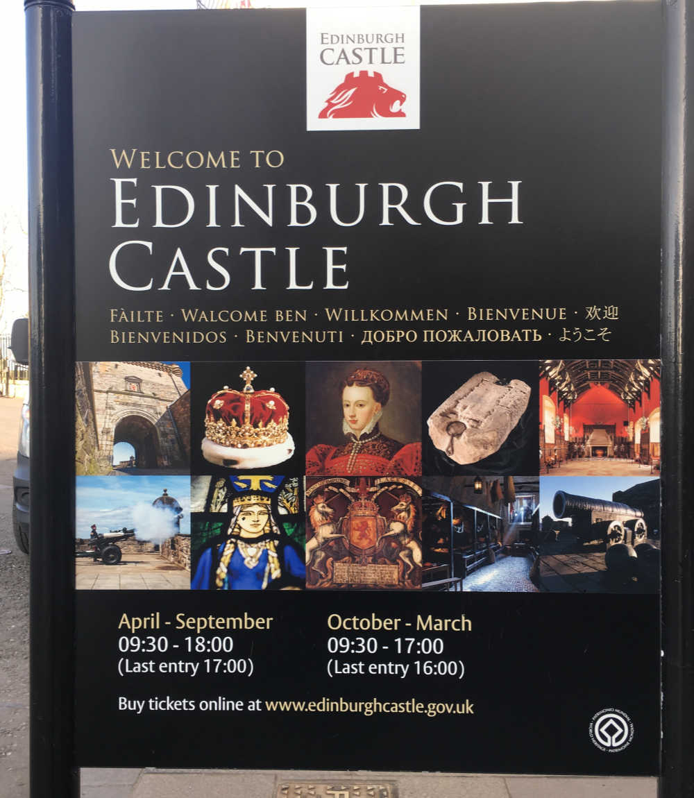Edinburgh Castle Opening Hours