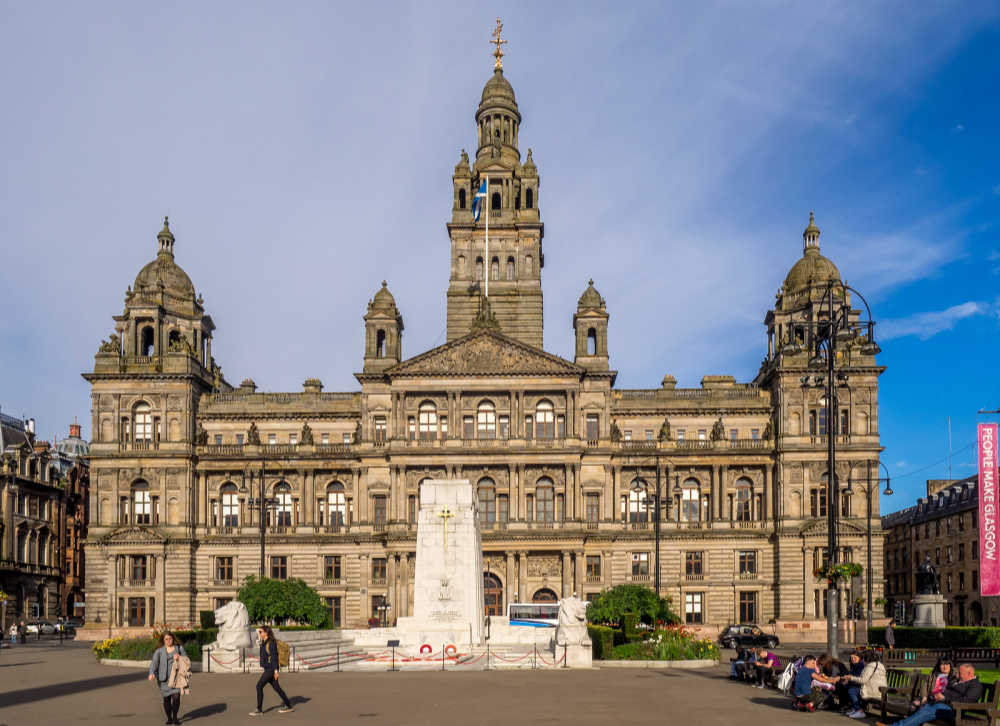 Glasgow George Square, Scotland