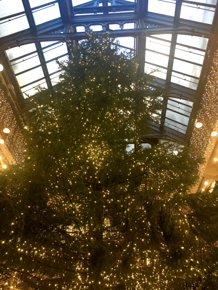 Jenners Xmas Tree Edinburgh