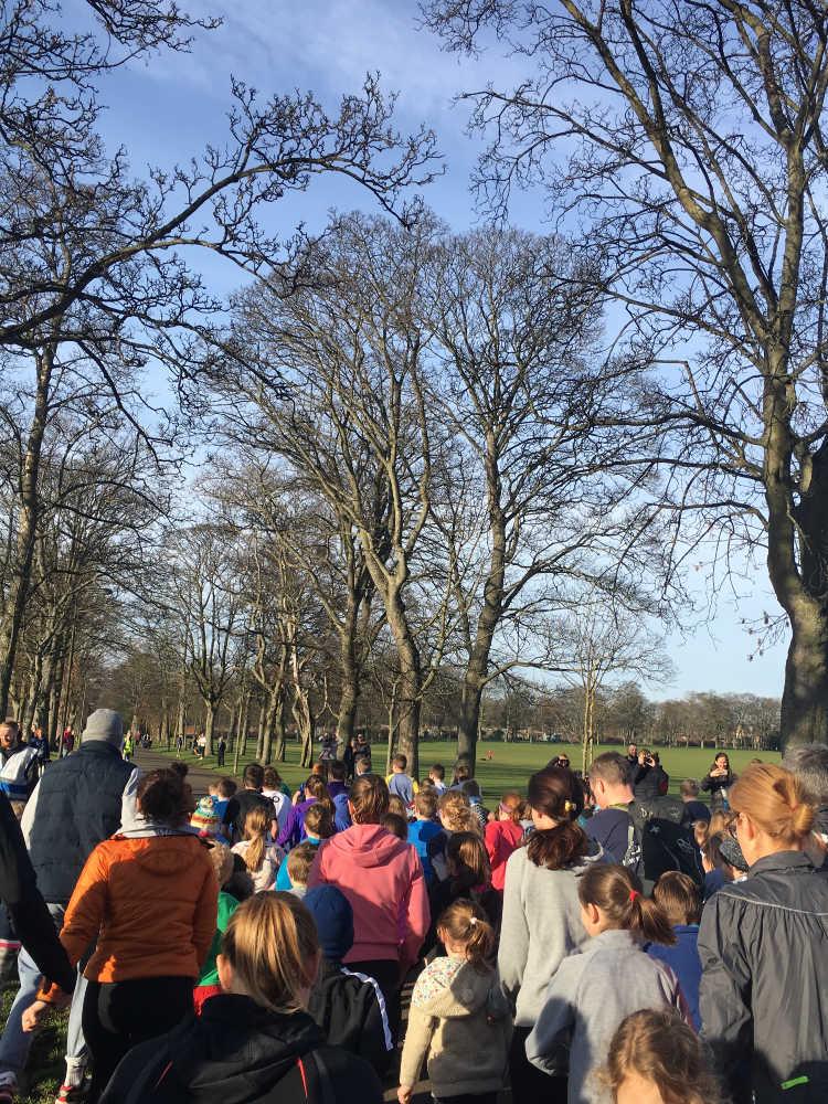 Junior Park Run, Inverleith Park, Edinburgh