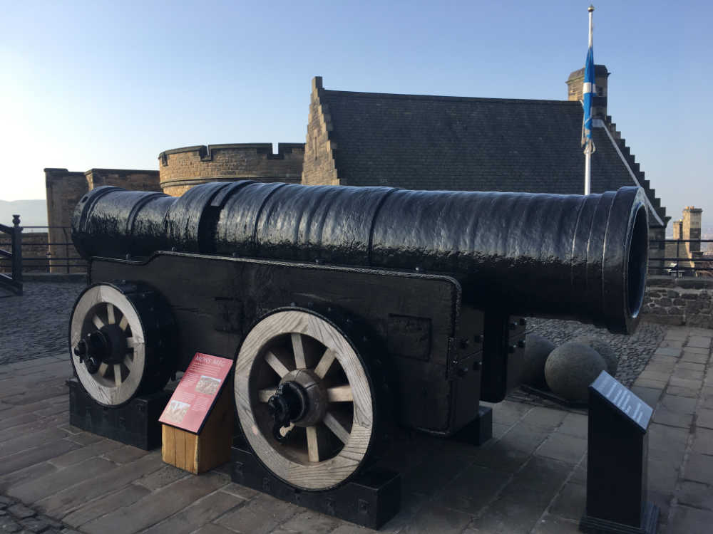 Mons Meg at Edinburgh Castle