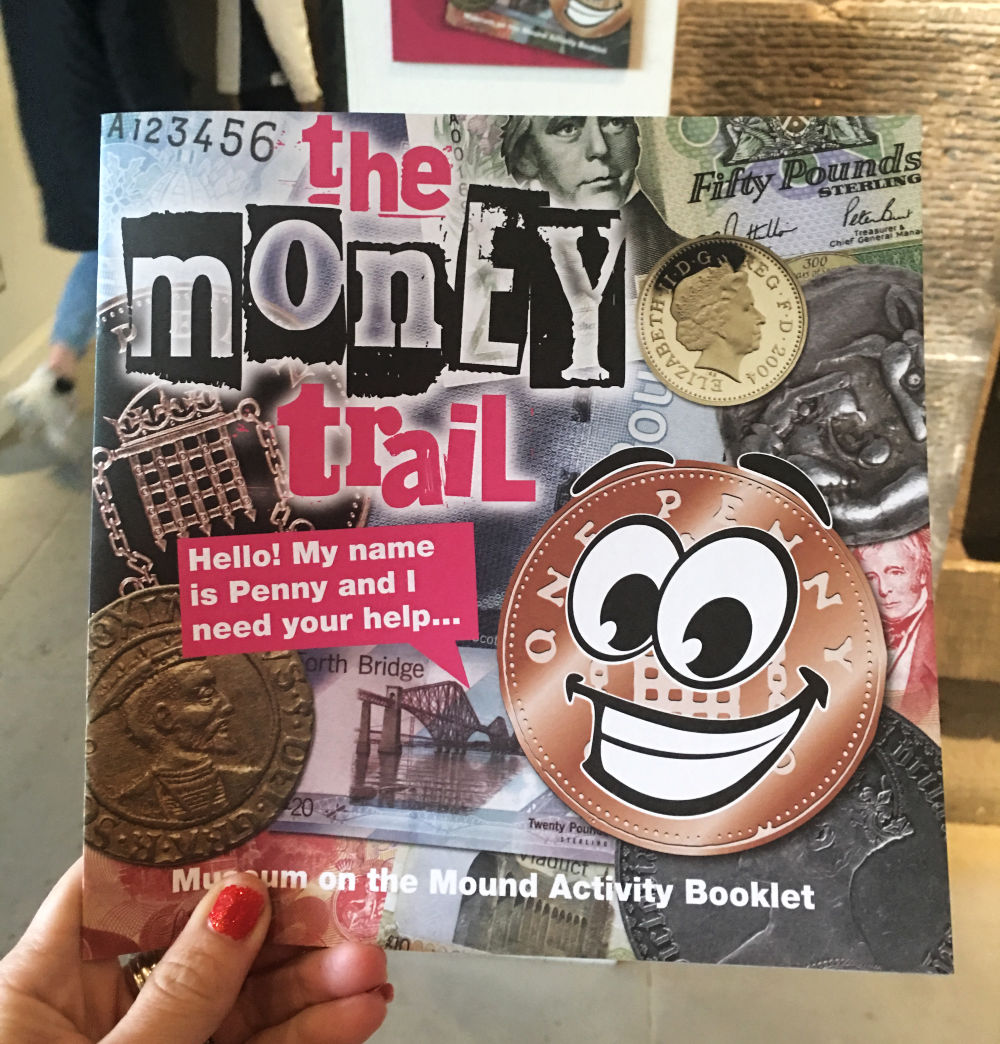 Museum on the mound - money trail booklet