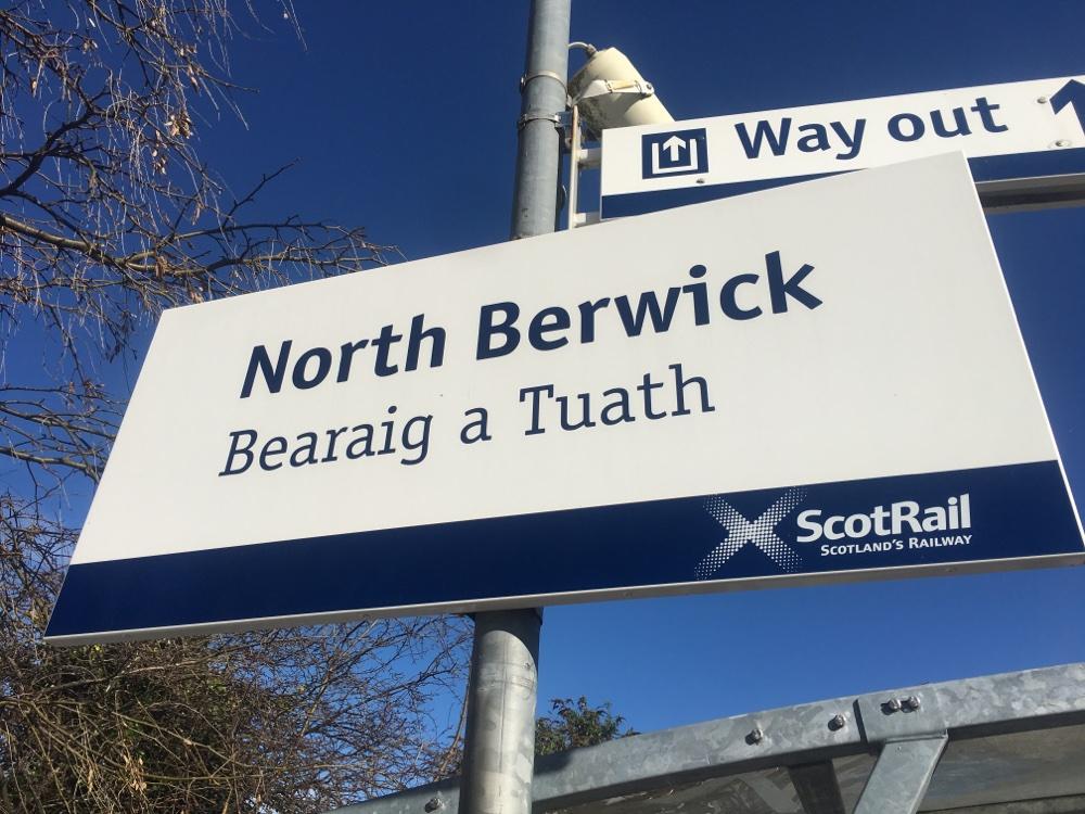 North Berwick train station