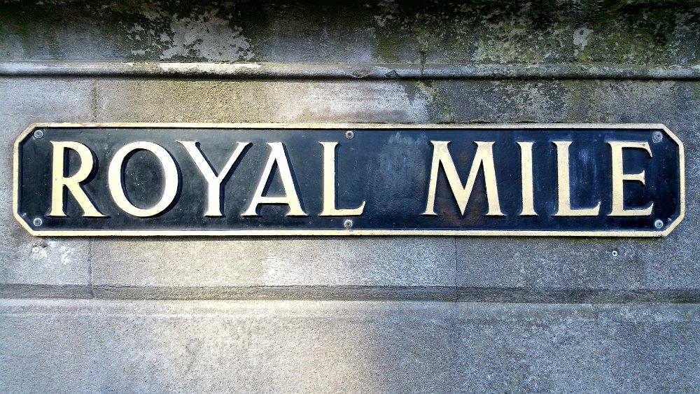 Royal Mile - Edinburgh