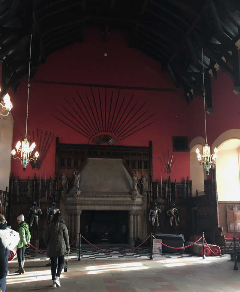 The Great Hall at Edinburgh Castle