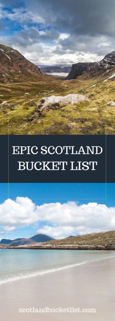 35+ ideas for an epic scotland bucket list