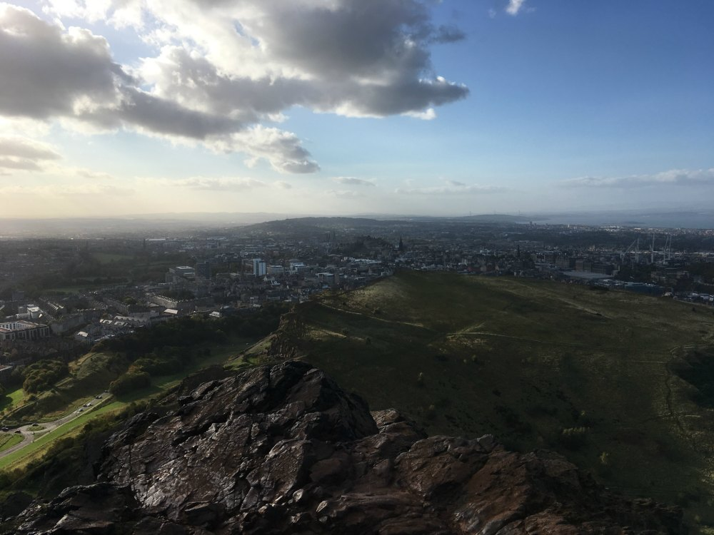 Edinburgh from Arthurs Seat