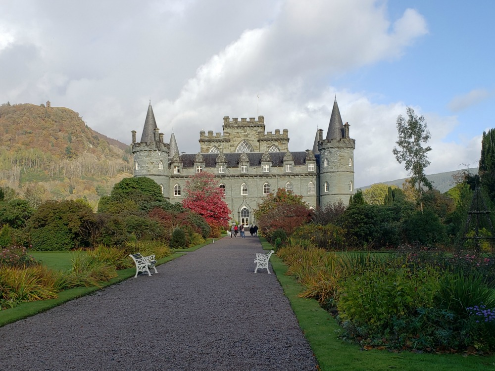 Inverarary Castle in Scotland