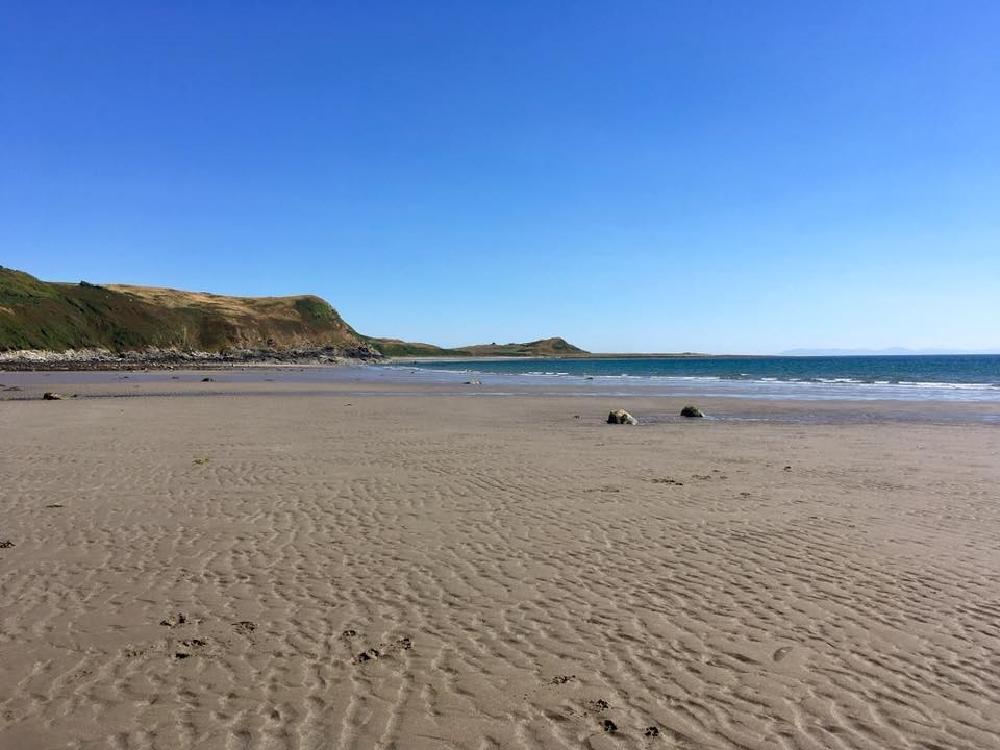 Monreith beach