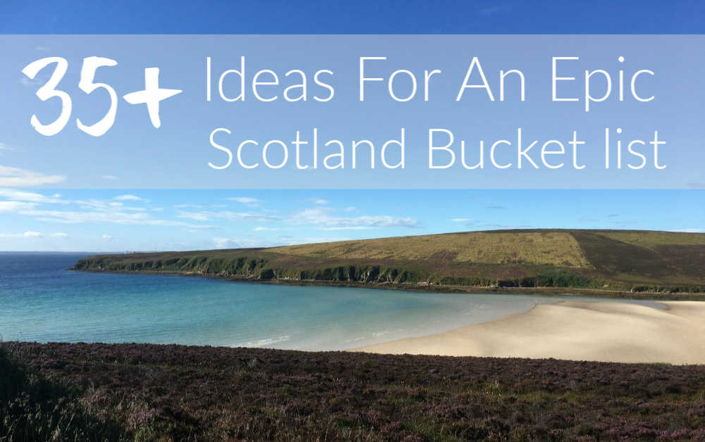 Scotland Bucket List Image