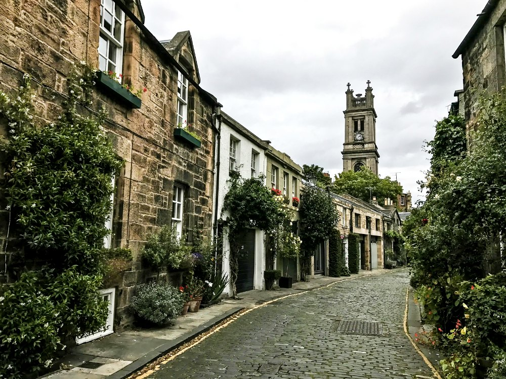 Stockbridge, Edinburgh, Scotland