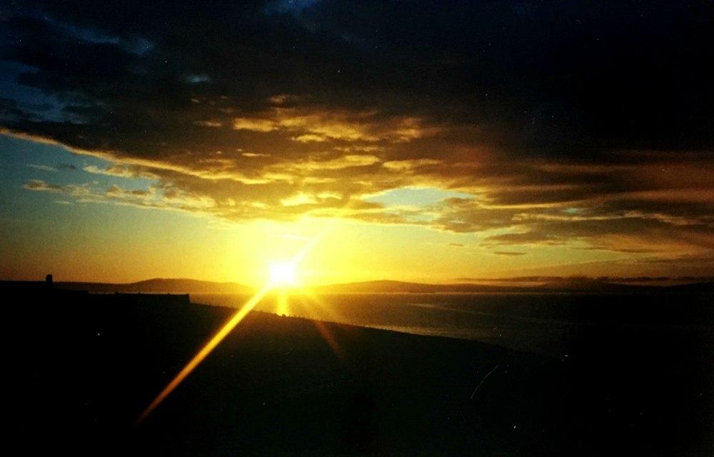 Sunrise in Orkney