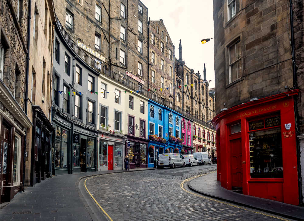 Victoria Street, Diagon Alley, Edinburgh, Scotland