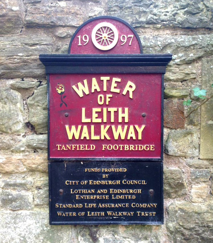 Water of Leith Walkway Sign, Edinburgh
