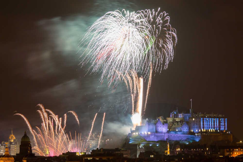 Edinburgh Fireworks, Edinburgh, Scotland