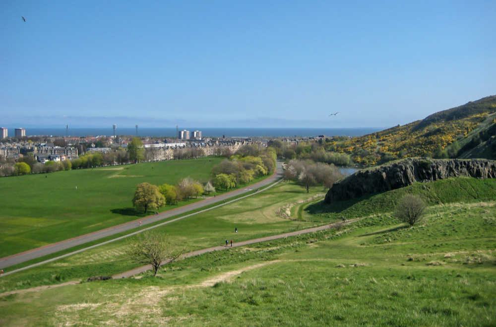 Holyrood Park, Edinburgh, Scotland