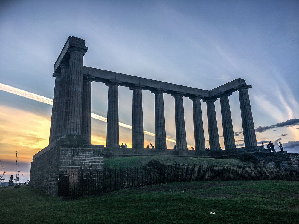 National Monument at Calton Hill, Edinburgh