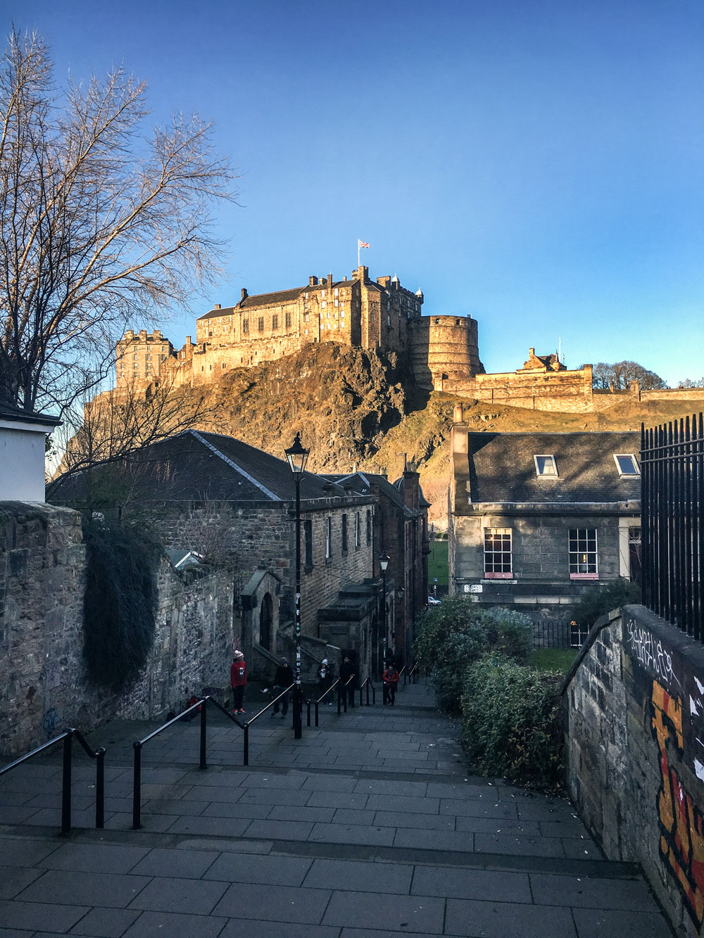 The Vennel in Edinburgh