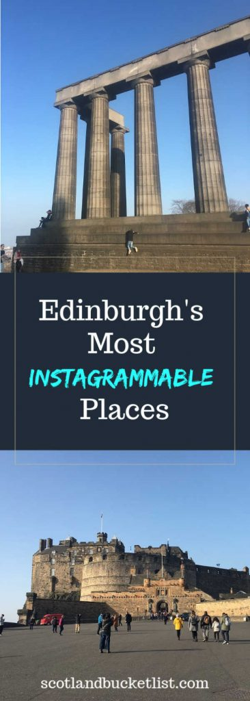 Edinburgh's Instagrammable Places - Pinterest Image