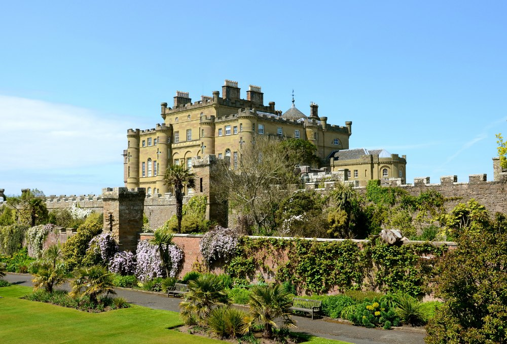Culzean Castle in Ayrshire, Scotland