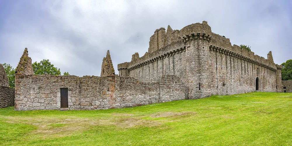 Craigmillar castle, near Edinburgh in Scotland