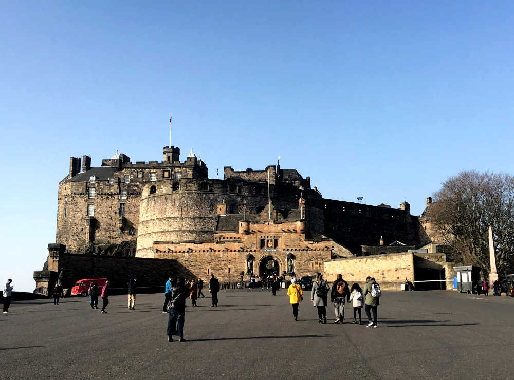 Edinburgh Castle from the Esplanade