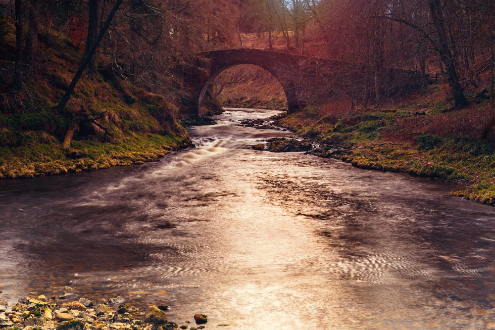 Strathdon in Scotland