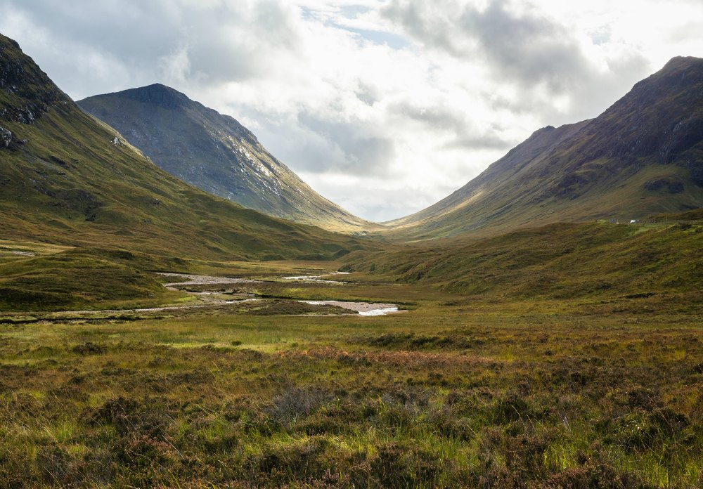 Glen Coe in Scotland