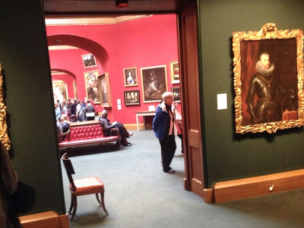 Inside the National Galleries of Scotland