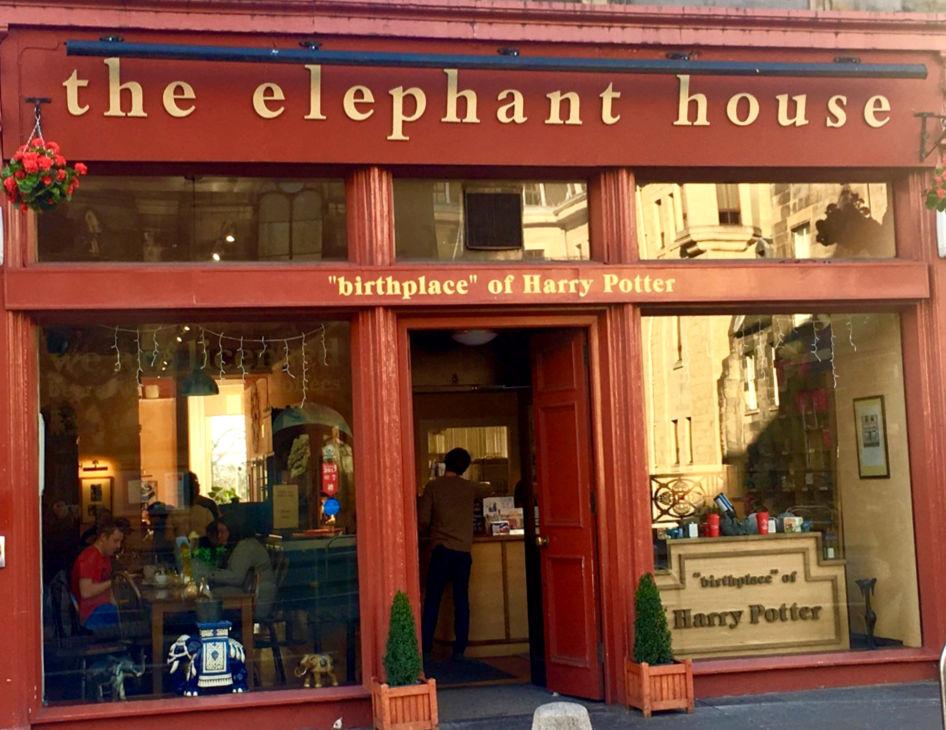 Elephant House in Edinburgh