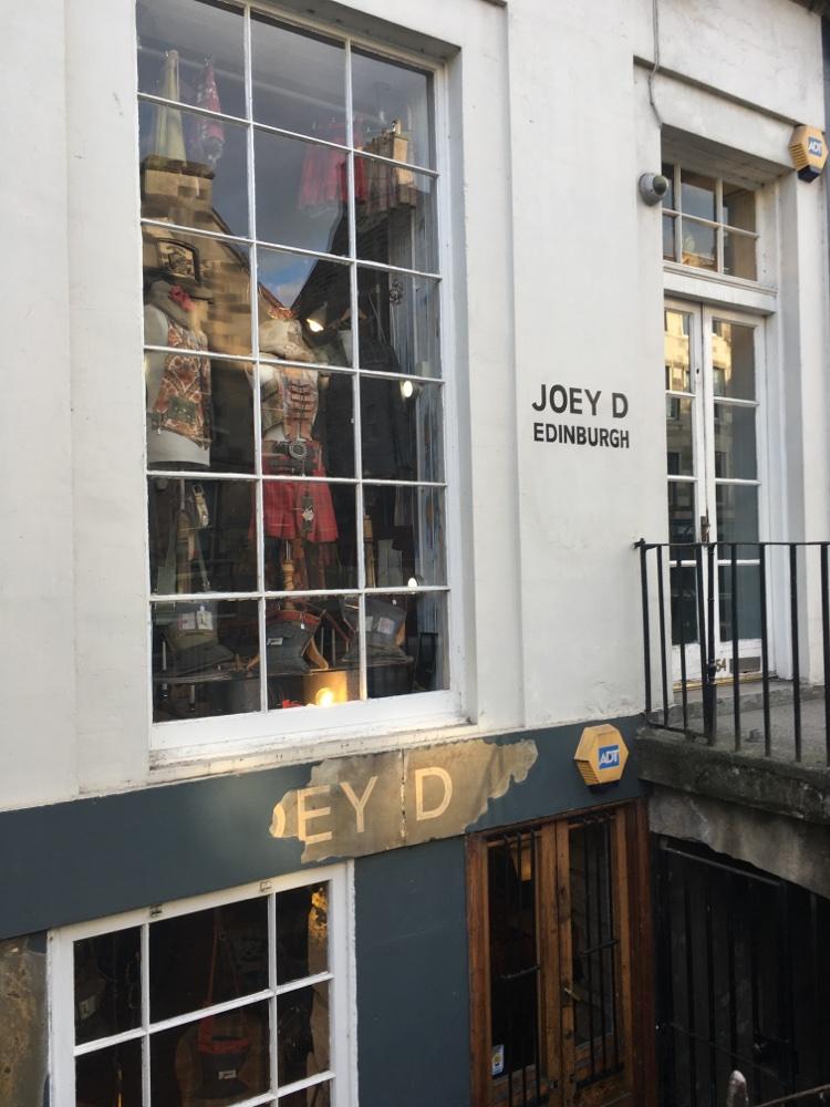 Joey D's in Edinburgh