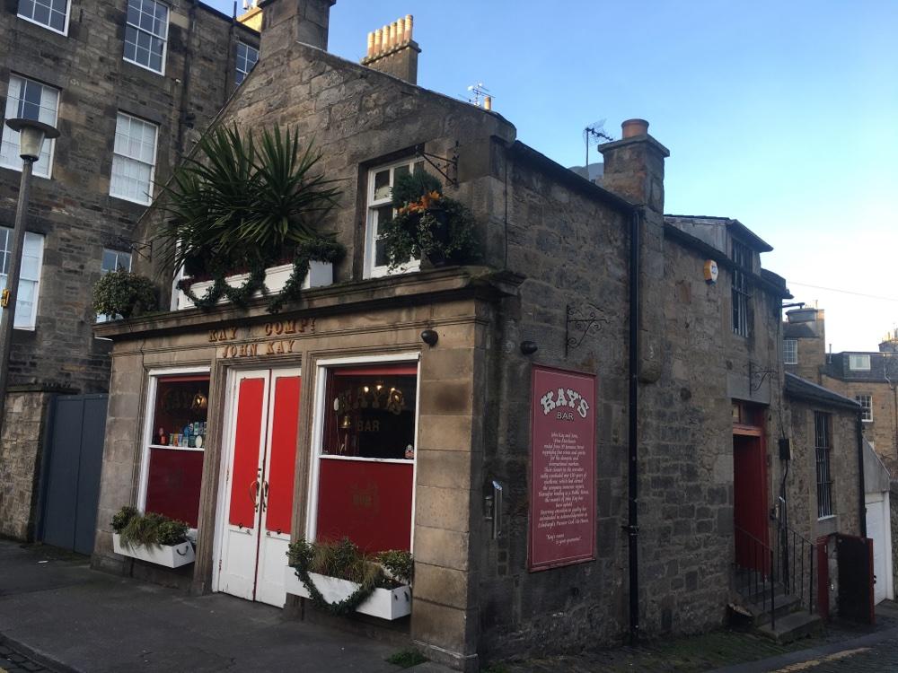 Kay's Bar in Edinburgh