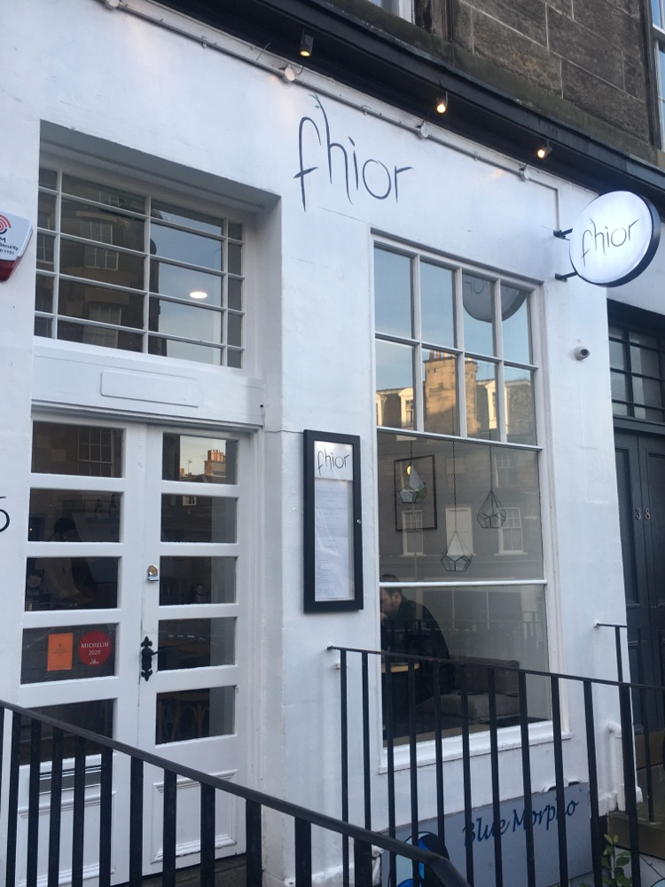 Restaurant Fhior in Edinburgh