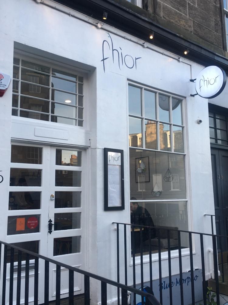 Restaurant Fhior in Edinburgh