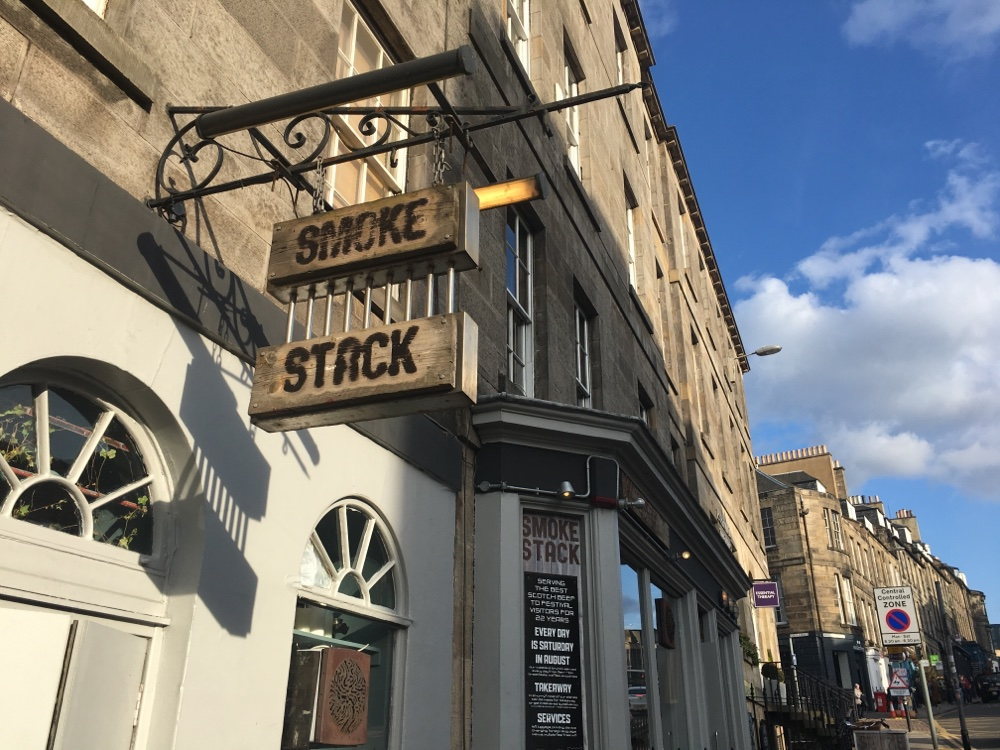 Smoke Stack Restaurant in Edinburgh
