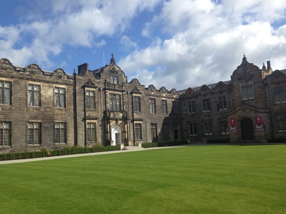 St Salvator's Quadrangle in St Andrews