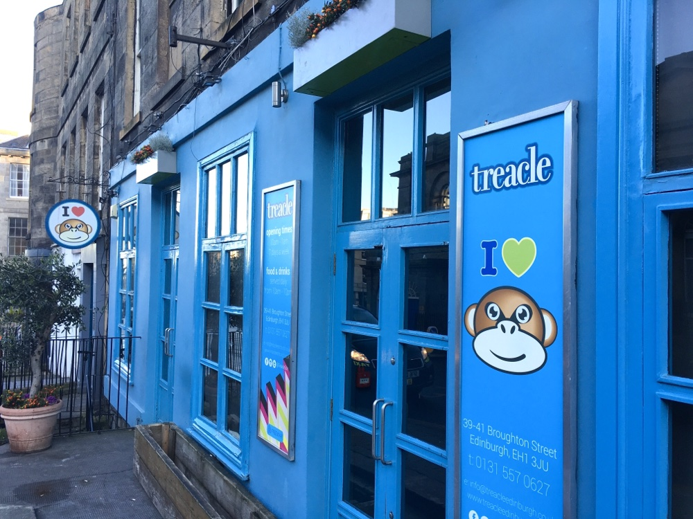 Treacle on Broughton St, Edinburgh