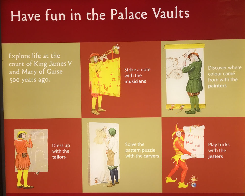 Have fun in the Palace Vaults poster