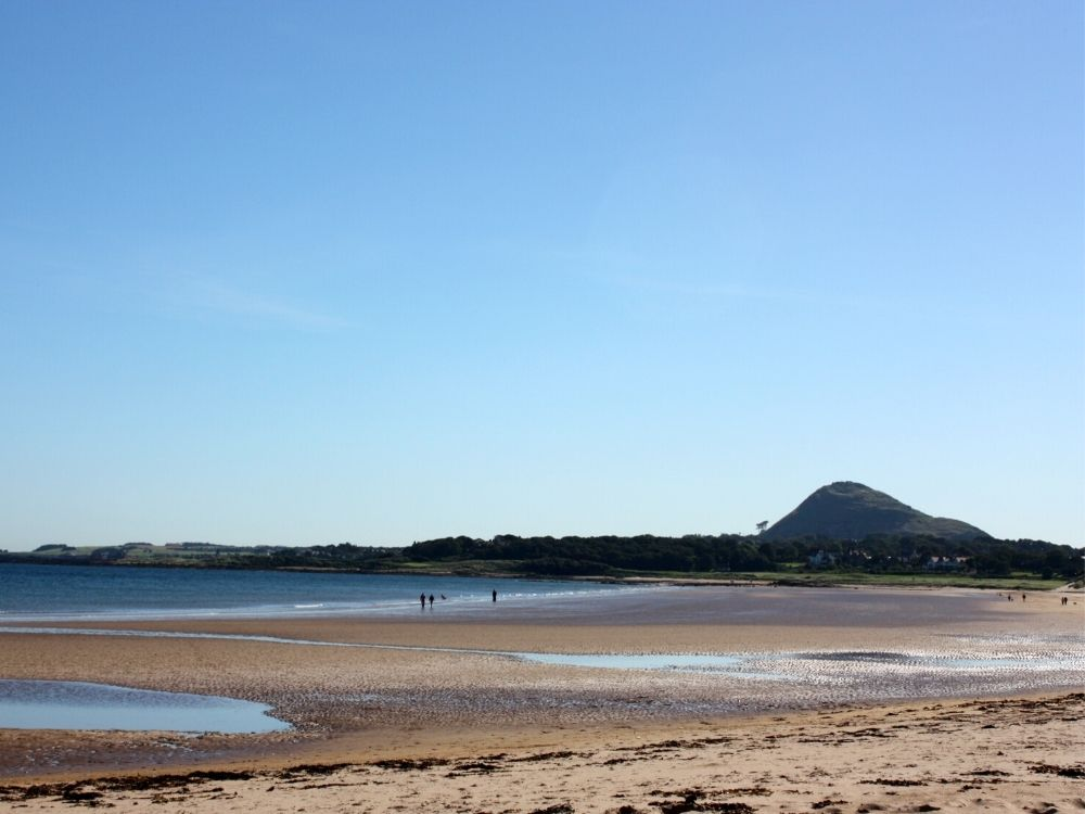 Yellowcraig beach, East Lothian