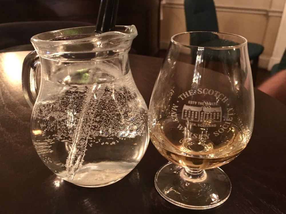 Scotch Malt Whisky Society - glass of whisky